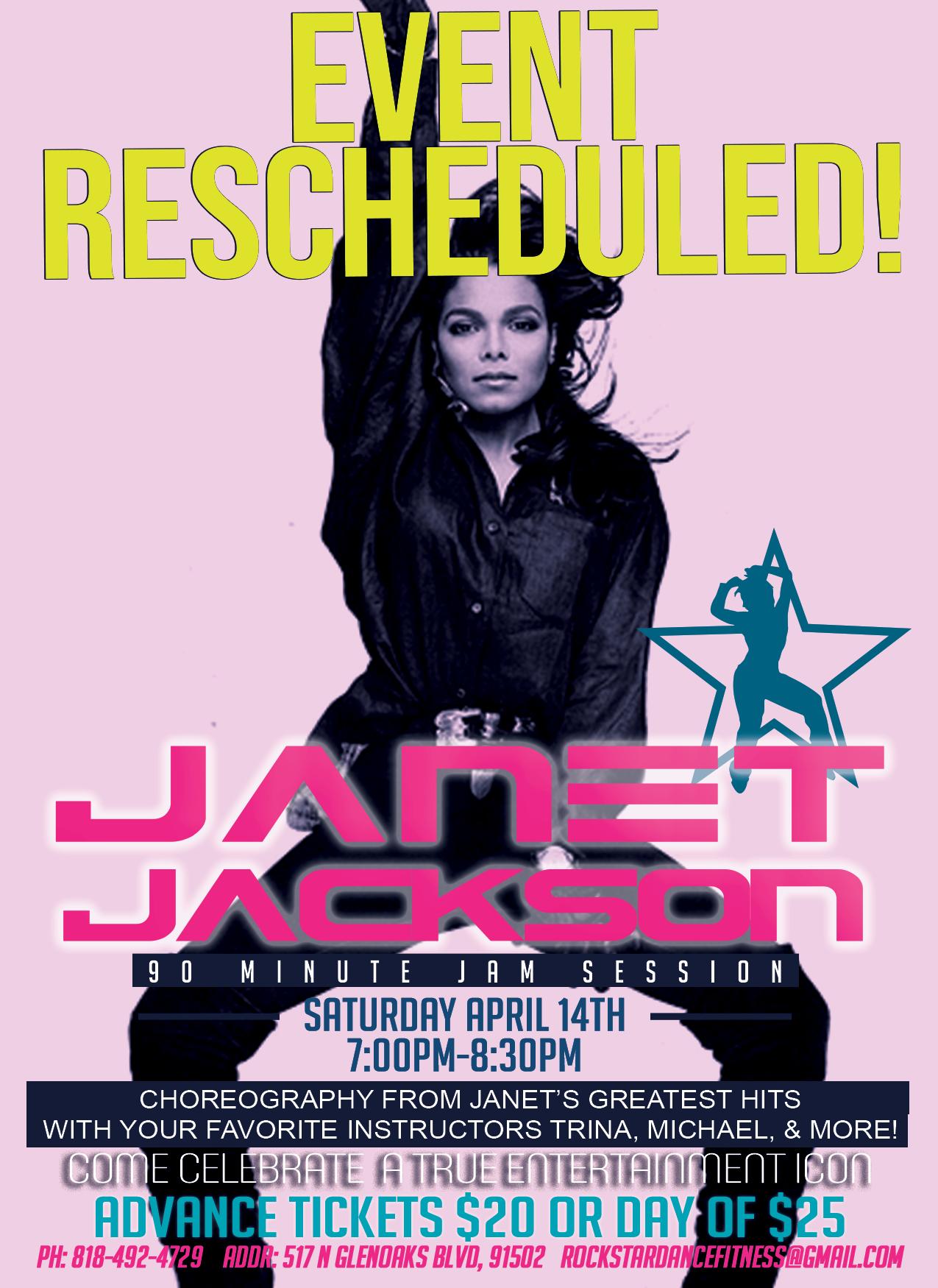 Janet Jackson FlyerReschedule3